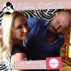 Hoja a nossa Poderosa Eliane Bertipaglia começou o seu tour na Boutique da Beleza Indaiatuba cuidando das madeixas!