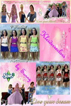 Hallo liebe Community,   hier ist unser heutiges Update es besteht  aus den wunderschönen Kleider Recolors von Sunny.  Viel spaß damit ! http://www.sims3dreams.at/filebase/index.php?page=Entry&entryID=1350&  http://www.sims3dreams.at/filebase/index.php?page=Entry&entryID=1344& Liebe Grüße euer Sims Dreams Team