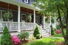 Front porch added - Wallingford, CT
