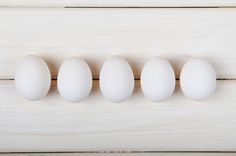 Check out Five white eggs by Mellisandra on Creative Market