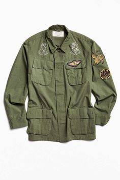 Deus Ex Machina Military Shirt Jacket - Urban Outfitters