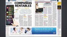 """Nuestra Chief Digital Officer Karla Ruiz Cofiño colaboró con la periodista Claudia Galán para el artículo """"Compañías Rentables en la WEB"""" el cual fue publicado en la sección -En Portada- del suplemento EFECTIVO de @Prensa_Libre."""