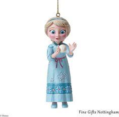 Elsa Hanging Ornament Disney Frozen - Disney Traditions Jim Shore A27548 #ElsaHangingOrnament #DisneyTraditionsJimShore #FineGiftsNottingham