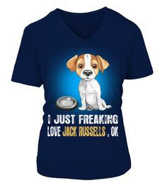 # I Love My Jack Russell Dog .  HOW TO ORDER:1. Select the style and color you want: 2. Click Reserve it now3. Select size and quantity4. Enter shipping and billing information5. Done! Simple as that!TIPS: Buy 2 or more to save shipping cost!This is printable if you purchase only one piece. so dont worry, you will get yours.Guaranteed safe and secure checkout via:Paypal | VISA | MASTERCARD
