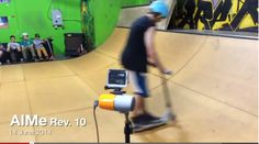 Capturing video perfectly framed with AIMe Rev 10 by #jigabot #aime #skateboard #lifeperfectlyframed Facebook.com/jigabot