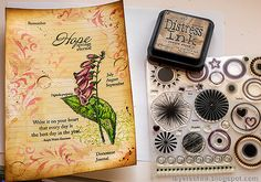 Layers of ink: Vintage Foxglove Art Journal Tutorial Art Journal Tutorial, White Gel Pen, Artist Trading Cards, Old Paper, Mixed Media Canvas, Art Journal Pages, Craft Stick Crafts, Gel Pens, Mini Books