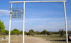 seminole scouts | Seminole Indian Scouts Cemetery | Flickr - Photo Sharing!