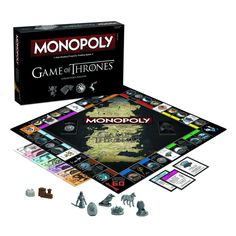 MONOPOLY Game of Thrones Collector's Edition Vie to hold dominion over the realms of men in the Game of Thrones Collector's Edition of MONOPOLY. Featuring infamous locations from the original dramatic