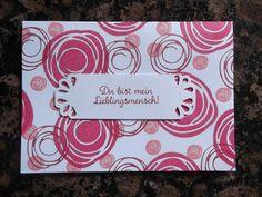 Sconebeker Stempelscheune - Stampin up Sets : Swirly Bird, Für Lieblingsmenschen, Geburtstagskarte,