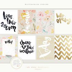 PROJECT LIFE CARDS - Miércoles de inspiración | no solo de navidad vive el dorado... - YoY Scrap