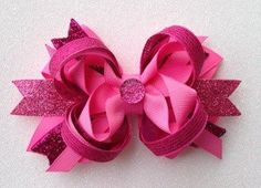 Slumber princess Bow by LillyBeanBowtique on Etsy
