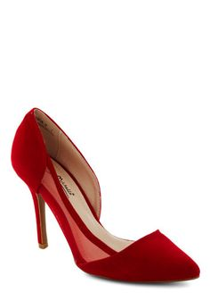 These are more for a certain friend who might be wearing a red dress! D'Orsay the Word Heel, #ModCloth