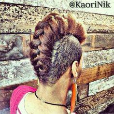 braided mohawk fly more hair hair hair styles braids mohawks ...