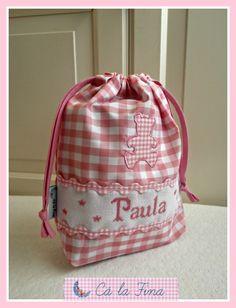 """Bolsita pañalera """"Paula"""" #bebes #canastillas"""
