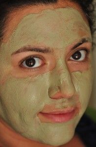 Best face mask ever. It is called Aztec secret Indian healing clay. Firmed my skin, shrinks my pores and clears up that acne and blackheads. Cost $5 dollars at the health food store