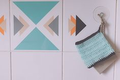 Easy alternative to sponges Weaving Projects, Couture Sewing, Diy Recycle, Clean House, Lana, Knit Crochet, Crochet Patterns, Kids Rugs, Diy Crafts