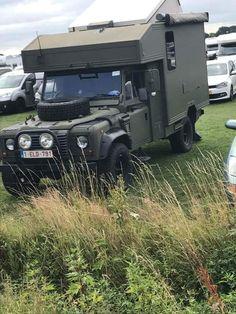Land Rover Defender 110 Tdi caravan camping adventure. Wolf. So nice.