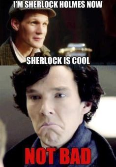 Where do I pin this. Doctor who or Sherlock? :D x