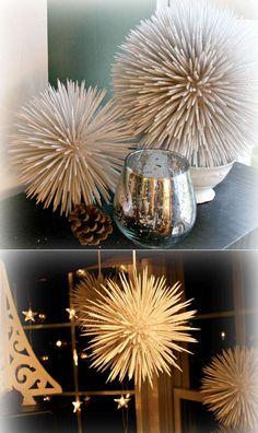 Новогодние шары из зубочисток | своими руками | Постила