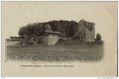 France - D33 - FARGUES DE LANGON - Ruines du Chateau (XIIe siècle) PRECURSEUR