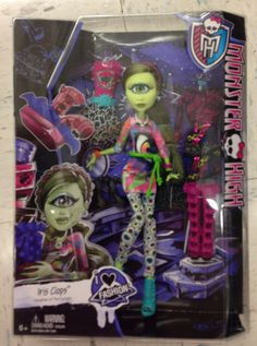 Monster High Iris Clops I Heart Fashion Doll showing up in stores