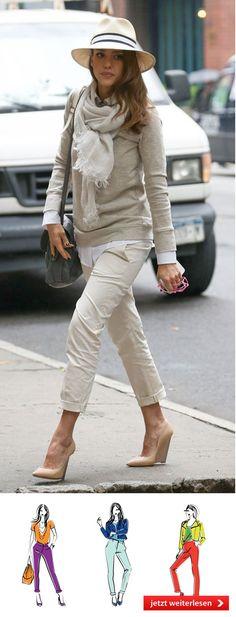 bf50f915ca71 Die 47 besten Bilder von beige Hose   Casual outfits, Dress attire ...