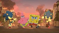 Patrick and Spongebob Join <i>Sonic Forces</i>