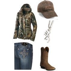 Totally my kind of outfit, except that Chevy hat needs to be Ford!