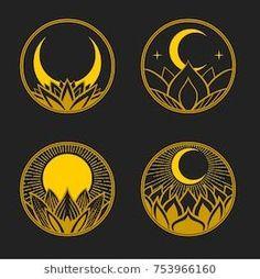 drawn moon hand ~ drawn moon + drawn moon art + drawn moon phases + drawn moon tattoo + drawn moon easy + drawn moon illustrations + drawn moon hand + drawn moon and sun Logo D'art, Sun Drawing, Tattoo Mond, Sun Illustration, Art Design, Logo Design, Design Ideas, Moon Art, Grafik Design