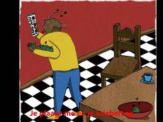 Het liedje 'Vlieg op, dikke vlieg, dikke bromvlieg' (vanaf groep 1) uit de liedbundel Eigenwijs. N.B.: Muziek en afbeeldingen zijn géén eigendom. Moving Pictures, Diy For Kids, Education, School, Bart Simpson, Youtube, Character, Insects, Spinning