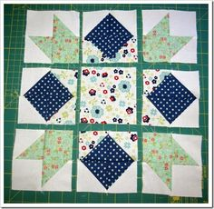 Squares and Stars step 5