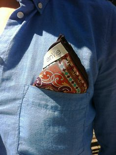 pocket square paisley