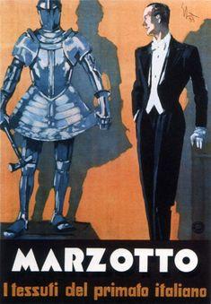 Marzotto Il Tessuti Del Primato Italiano 1933