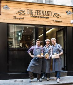 Big Fernand – In the 9ème, the best burger in Paris. Order the Bartholomé! Very unassuming at the front, with tight seating inside.