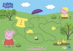 Rainy Day Activities: Download These FREE Peppa Pig Activity Sheets - Mum's Lounge
