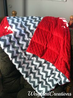 Weighted Blanket by WeightedCreations on Etsy https://www.etsy.com/listing/182119049/weighted-blanket