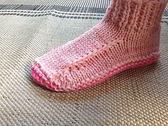Ravelry: Better Dorm Boots Slippers pattern by Kris Basta - Kriskrafter, LLC