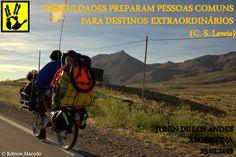 Dificuldades preparam pessoas comuns para destinos extraordinários. (C.S Lewis)