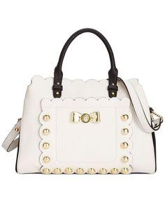 16b9b1f48ec288 Betsey Johnson - Studded Affair satchel Satchel Purse, Satchel Handbags,  Betsey Johnson Bags,