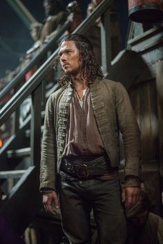 John Silver #Blacksails #Costuming #Pirates