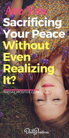 Are you sacrificing your peace in the small moments of your daily life, without even realizing it... flushing your peace down the toilet? Here's what you need to know, to retain peace no matter what is going on around you. #peace #presence #mindfulness #mantra #happiness #consciousliving #consciousness #lettinggo #mindset #personalgrowth #selfhelp #personaldevelopment #selfimprovement via @DailyPoz