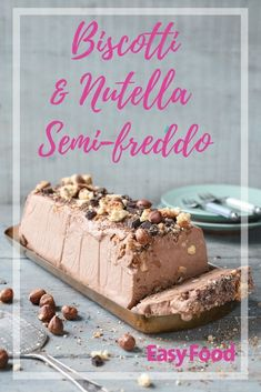 This Italian inspired dessert is decadence in a spoonful. Perfect for entertaining or just wanting to impress! #dessert #italiancuisine #icecream
