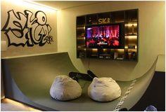Skateboard Rooms future bed room   ℗iↄﯖ ♤   pinterest   mini ramp, teenager rooms