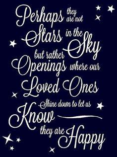 Loved ones in heaven quote via www.Facebook.com/PositivityToolbox