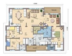 Humble Abode, House Plans, Sweet Home, Floor Plans, Layout, Flooring, How To Plan, Deco, Building