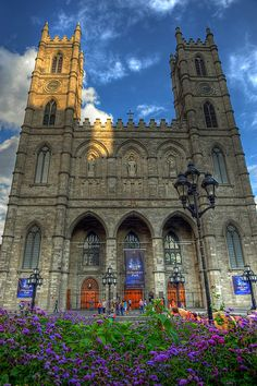 Notre-Dame Basilica (French: Basilique Notre-Dame de Montréal) is a basilica in the historic district of Old Montreal, in Montreal, Quebec, Canada.