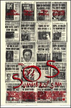 Where Can I Watch Summer Of Sam Online. Spike Lee's take on the Son of Sam murders in New York City during the summer of 1977 centering on the residents of an Italian-American Northeast Bronx neighborhood who live in fear and distrust of one another. Mira Sorvino, Saturday Night Fever, Norman Bates, Michael Myers, Freddy Krueger, Hd Movies, Movies Online, Horror Movies, 1990s Movies