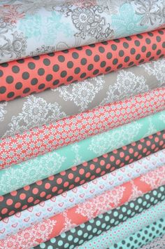 Handmade image is courtesy of Hawthorne Threads Bundle Whisper Collection Fabric Design, Pattern Design, Nursery Fabric, Quilt Material, Fabric Combinations, Modern Fabric, Fabric Online, Fabric Patterns, Sewing Crafts
