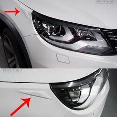 High Quality BRENTHON Car Bumper Eye line Detail Tip for Volkswagen Tiguan #BRENTHON