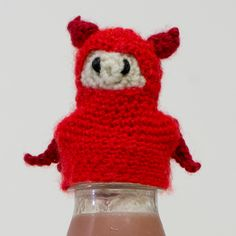 I supported the Bigknit #BigKnit #thebigknit   #barondelabry  #mencrochet #crochet #barondelabryemporium @innocentsmoothies See more of my work at http://www.etsy.com/shop/barondelabry